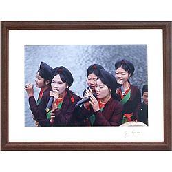 Quan Ho Singers, Vietnam Framed Photograph