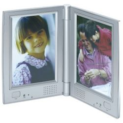 Two Sided Talking Picture Frame with Dual Recording