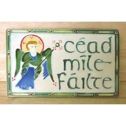 Celtic Angel Plaque