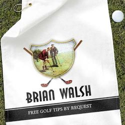 Personalized Golf Buddies Golf Towel