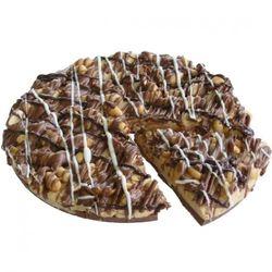 Gourmet Chocolate Peanut Butter Pizza