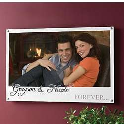 Personalized Forever Photo Canvas Poster