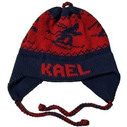 Personalized Kid's Ski Ear Flap Hat