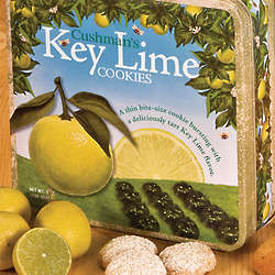 Key Lime Cookies Gift Tin