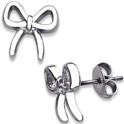 Designer-Inspired Bow Earrings