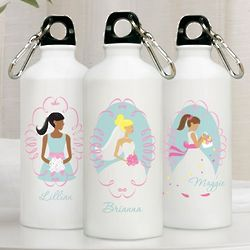 Personalized Bridal Party Water Bottle