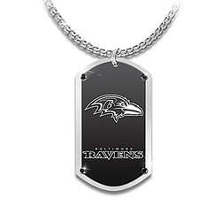 Personalized Baltimore Ravens Pendant