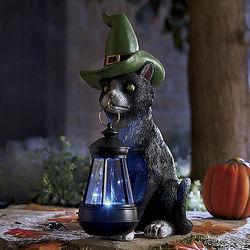 Halloween Solar Cat Lantern