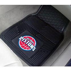 Detroit Pistons Heavy Duty Vinyl Car Mats