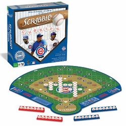 Chicago Cubs Scrabble Board Game