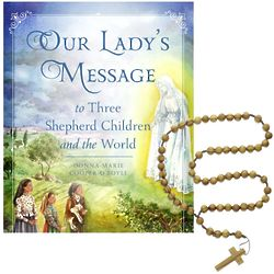 Our Lady's Message to Three Shepherd Children Book & Rosary