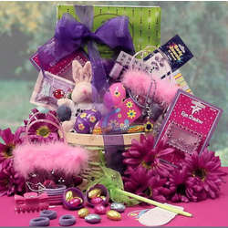 Glitzy girl easter teen gift basket findgift glitzy girl easter teen gift basket negle Images