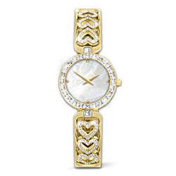 Love Always Diamond Heart Women's Watch
