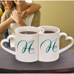Personalized Initial Mugs