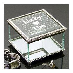Personalized Love Jewelry Box