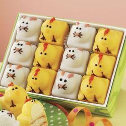 Mini Easter Critter Cakes