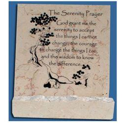 The Serenity Prayer Jerusalem Stone
