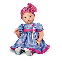 Breast Cancer Support Lifelike Baby Doll