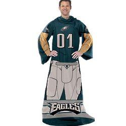 Philadelphia Eagles Player Uniform Comfy Throw