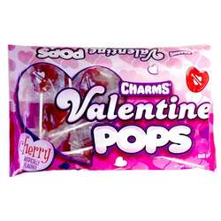 Charms Valentine Pops