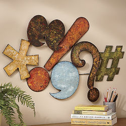 Symbols Metal Wall Art