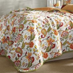 Garden Party Oversized/Reversible Twin Quilt