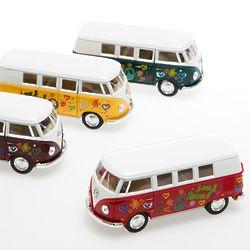 Pullback Retro Volkswagen Bus Toy