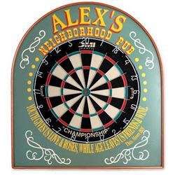 Neighborhood Pub Dart Board Set