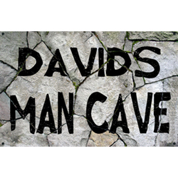 Personalized Rock Man Cave Sign