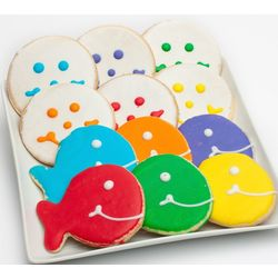 Stream Full Of Smiles Fish and Smiley Cookies