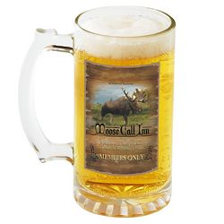 Personalized Moose Call Inn Beer Mug Set