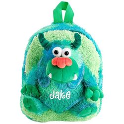 Personalized Monster Plush Backpack