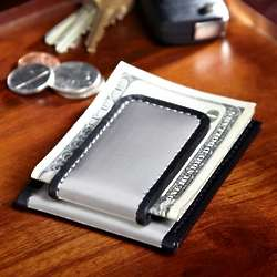 Woven Steel Card Holder and Money Clip