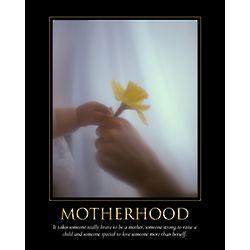 Motherhood Personalized Print