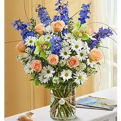Summer Dunes Deluxe Flower Bouquet