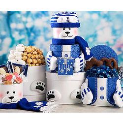 Polar Bear Sweets Gift Tower