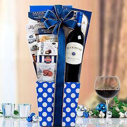 Rock Falls Vineyards Cabernet Gift Basket
