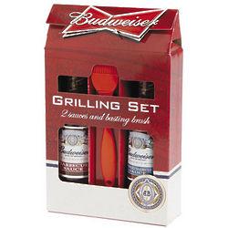Budweiser BBQ Basting Set