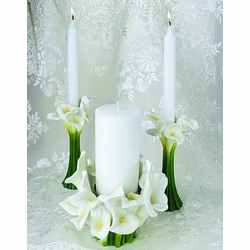 Calla Lily Unity Candle Set