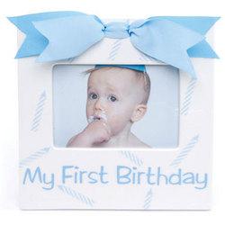 First Birthday Boy Frame