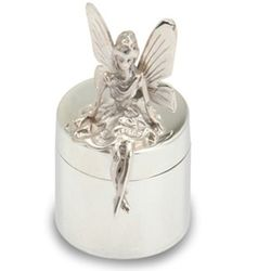 Tooth Fairy Sterling Silver Box