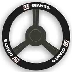 New York Giants Leather Steering Wheel Cover