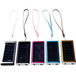 1350mA Emergency Solar Power Charger for iPod/iPhone
