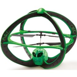 Area 51 Green Alien Helicopter