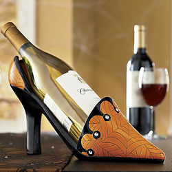 High-Heel Wine Bottle Holder