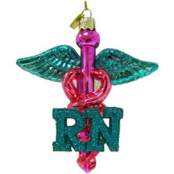 Nursing Christmas Ornament