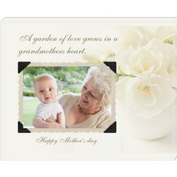 Grandmother's Heart Custom Photo Wall Canvas