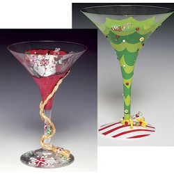 Martini Glasses Holiday Gift Set