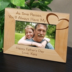 You Always Have My Heart Personalized Frame for Dad