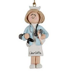 Nurse Personalized Christmas Ornament